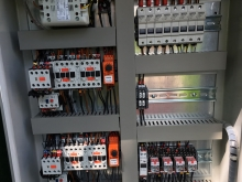 After... Shopping Centre Pumping Station new Replacement Control Panel  » Click to zoom ->
