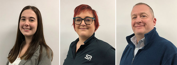 SPE welcomes new members of staff