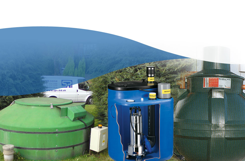 Sewage Pumps and Sewage Treatment Plants  - Home