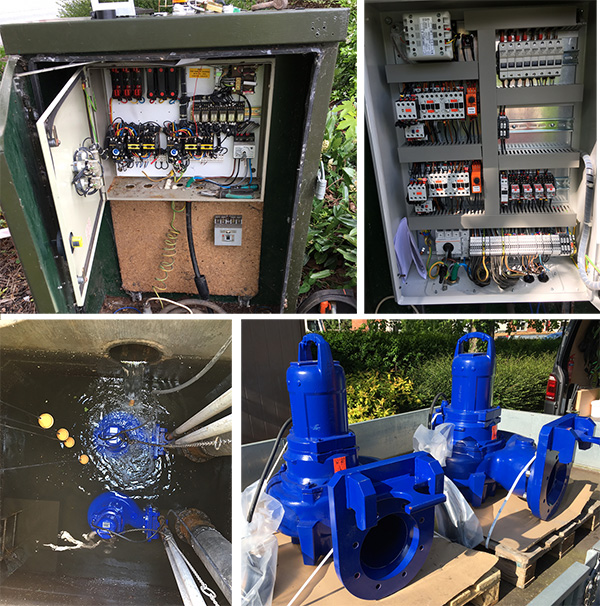 SPE installs new pumps and control panel in Stratford-on-Avon